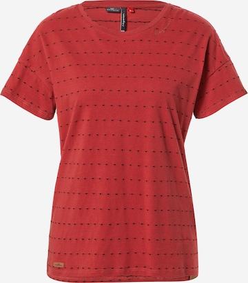 Ragwear Shirt 'CELEB' in Red