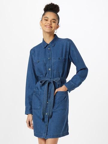 GAP Košeľové šaty - Modrá