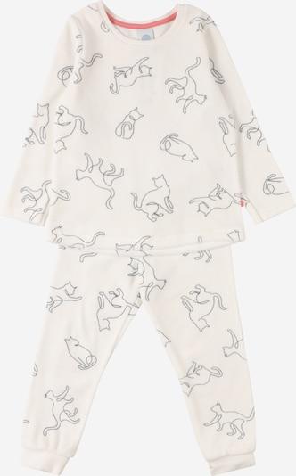 SANETTA Pijama en beige / negro, Vista del producto