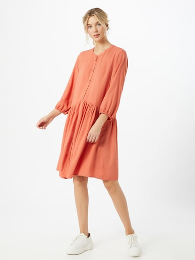TOM TAILOR DENIM Kleid in orange, Modelansicht