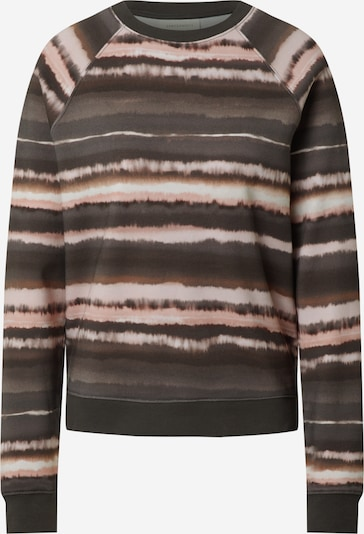 ARMEDANGELS Sweatshirt 'RIKAA' in braun / anthrazit / weiß, Produktansicht