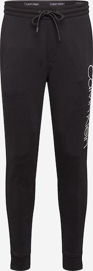 Calvin Klein Püksid must / valge, Tootevaade