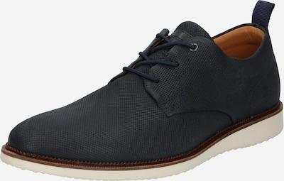 BULLBOXER Chaussure à lacets en bleu marine, Vue avec produit
