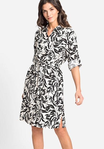 Olsen Sommerkleid in schwarz / weiß, Modelansicht
