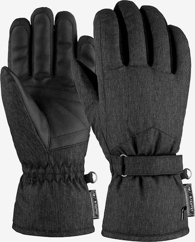 REUSCH Fingerhandschuhe 'Lea R-TEX® XT' in schwarzmeliert, Produktansicht