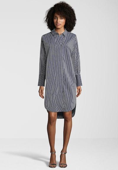 SCOTCH & SODA Oversizekleid im Denim-Look in blau / blue denim / weiß, Modelansicht