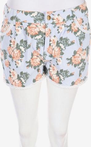 mint&berry Kunstleder-Shorts in S-M in Blau