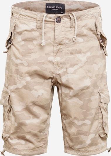 BRAVE SOUL Карго панталон 'GEORGE' в кафяво / светлокафяво: Изглед отпред