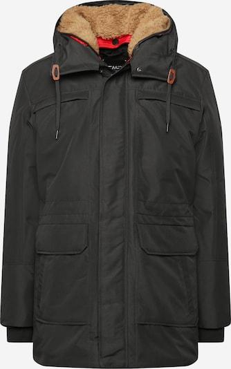 CMP Outdoorjas in de kleur Lichtbruin / Zwart, Productweergave