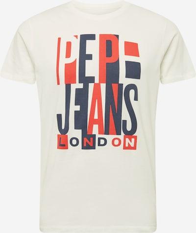 Pepe Jeans Тениска 'DAVY' в виолетов / оранжево-червено / бяло, Преглед на продукта