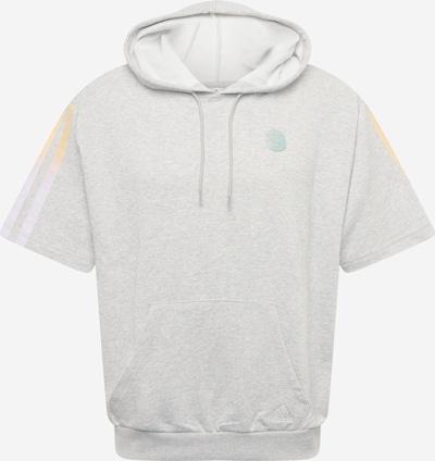 ADIDAS PERFORMANCE Sportsweatshirt in gelb / grau / orange, Produktansicht