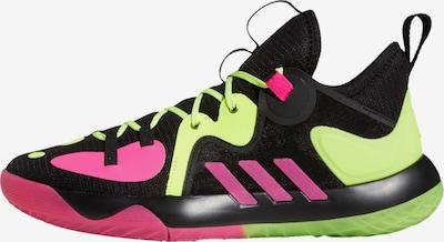 ADIDAS PERFORMANCE Basketballschuh 'Harden Stepback 2.0' in hellgrün / pink / schwarz, Produktansicht