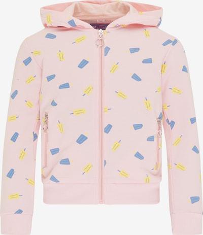 myMo KIDS Bluza rozpinana w kolorze królewski błękit / żółty / pastelowy różm, Podgląd produktu