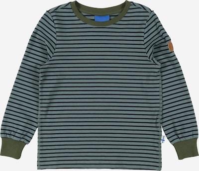 FINKID Shirt in de kleur Nachtblauw / Kaki / Lichtgroen, Productweergave