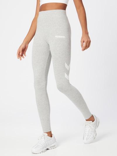 Hummel Leggings in de kleur Grijs, Modelweergave