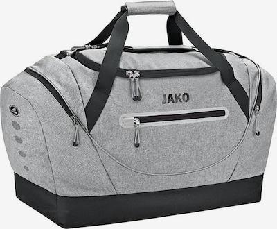JAKO Sporttasche in graumeliert / schwarz, Produktansicht