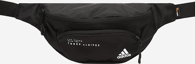 ADIDAS PERFORMANCE Athletic Fanny Pack in Black / White, Item view