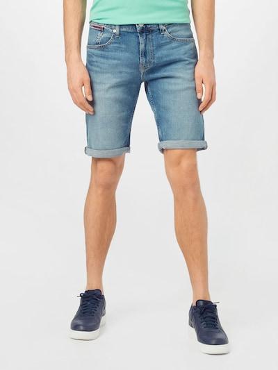 Tommy Jeans Jeansy 'RONNIE' w kolorze niebieski denimm, Podgląd na modelu(-ce)