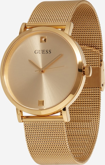 GUESS Analog watch 'SUPERNOVA' in Gold / Black / White, Item view