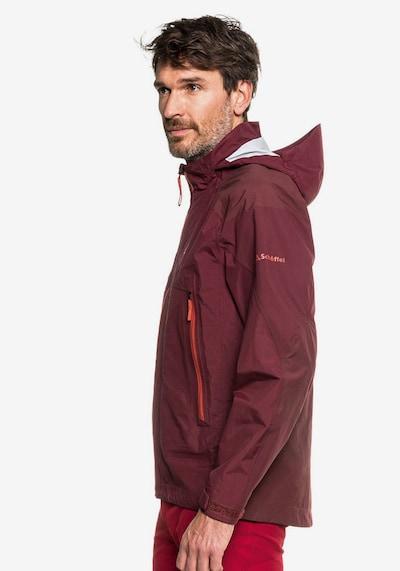 Schöffel Jacke in weinrot / dunkelrot, Produktansicht