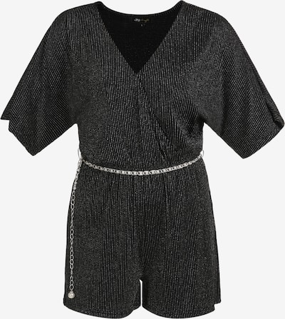 myMo at night Jumpsuit in de kleur Zwart / Zilver, Productweergave