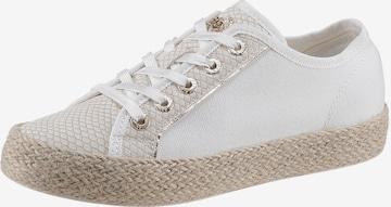 Sneaker low 'Eve' de la bugatti pe alb