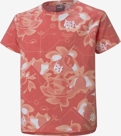 PUMA Shirt in de kleur Rosé / Oudroze / Wit, Productweergave