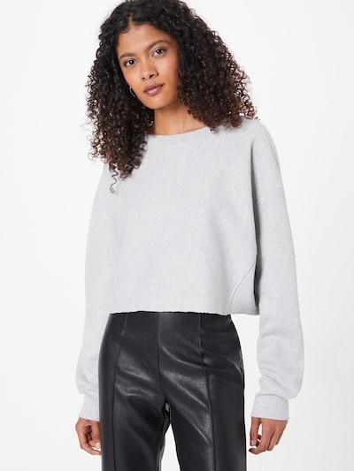 Karo Kauer Jersey 'Leni' en gris claro, Vista del modelo