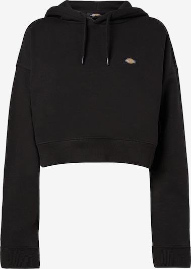 DICKIES Sweatshirt 'OAKPORT' in orange / schwarz / weiß, Produktansicht
