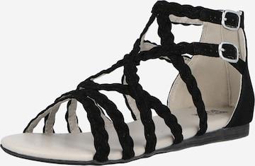 BULLBOXER Sandale in Schwarz