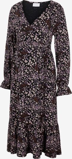 MAMALICIOUS Robe en mastic / bourgogne / noir, Vue avec produit