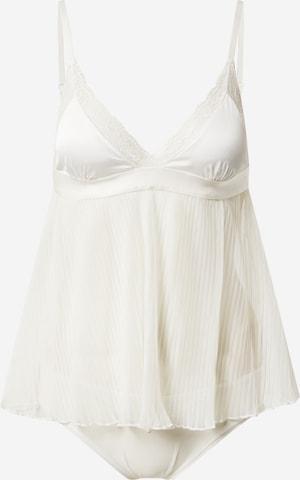 Lenjerie sexy 'Evangeline' de la Hunkemöller pe alb