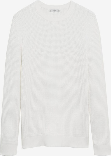 MANGO MAN Pullover 'Rose' in offwhite: Frontalansicht