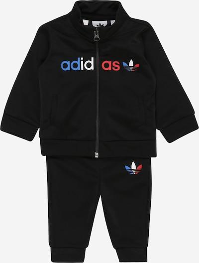 ADIDAS ORIGINALS Jogginganzug in blau / melone / schwarz / weiß, Produktansicht