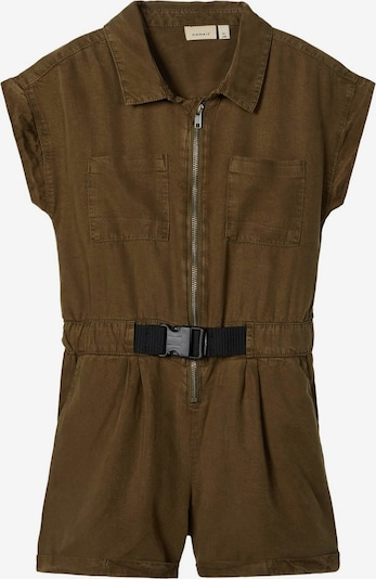 NAME IT Overall in grün / khaki, Produktansicht