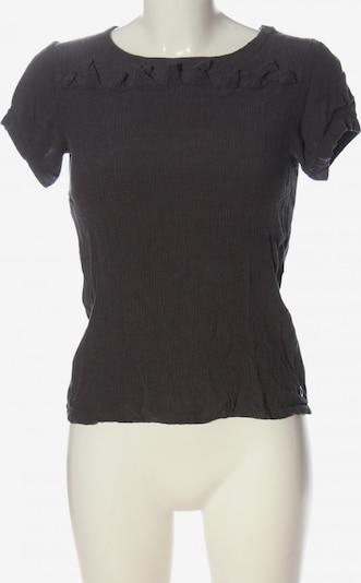 Skunkfunk Kurzarm-Bluse in S in hellgrau, Produktansicht