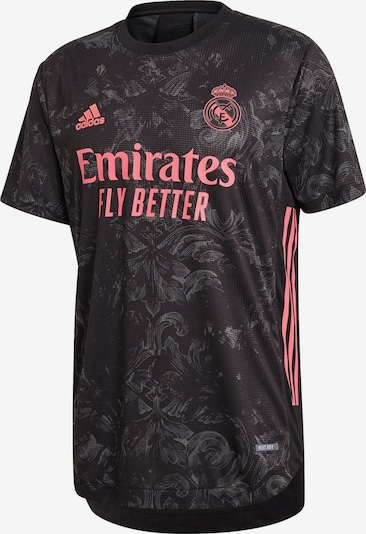 ADIDAS PERFORMANCE Trikot '3rd Real Madrid Authentic 2020/2021' in koralle / schwarz, Produktansicht