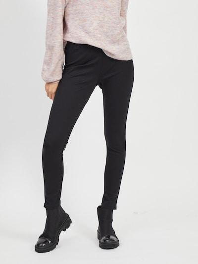 VILA Leggings 'Odina' in schwarz, Modelansicht