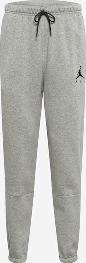 Jordan Pantalon de sport 'Jumpman Air' en gris chiné / noir, Vue avec produit