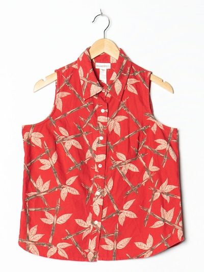 JONES NEW YORK Bluse in M in rot, Produktansicht