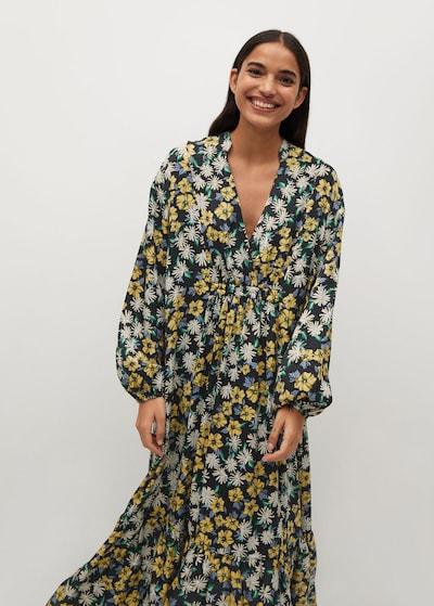 MANGO Kleid in mischfarben, Modelansicht