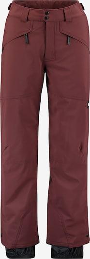 Pantaloni sport 'Hammer' O'NEILL pe maro pueblo, Vizualizare produs