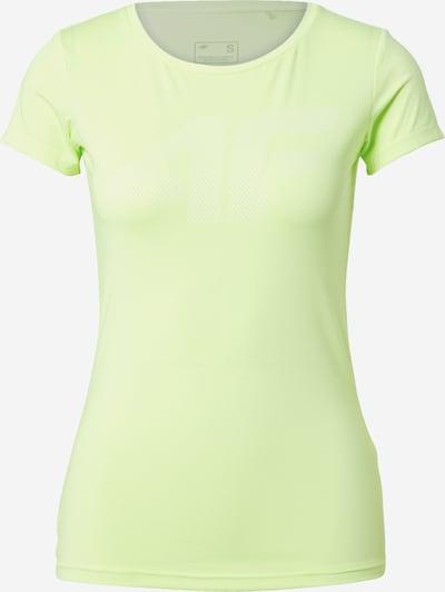 4F Functioneel shirt in de kleur Neongroen, Productweergave