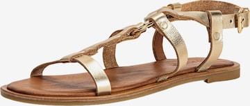 INUOVO Sandale in Gold