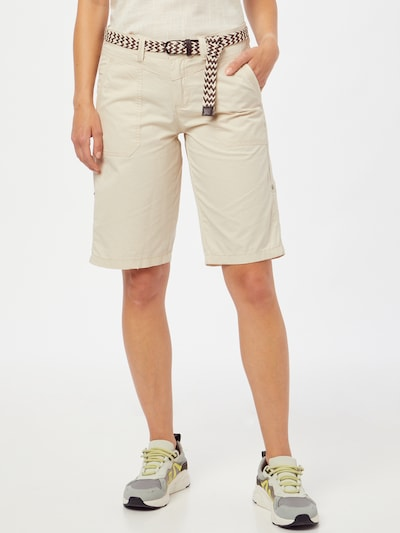 ZABAIONE Shorts 'Nora' in ecru, Modelansicht