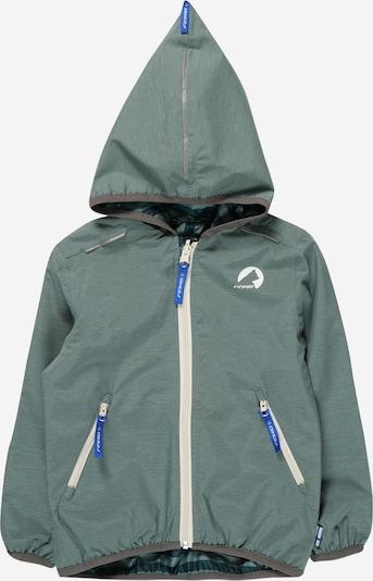 FINKID Prechodná bunda 'VALAS' - tmavosivá / pastelovo zelená, Produkt