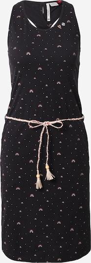 Ragwear Kleid 'INFINY' in mischfarben / schwarz, Produktansicht