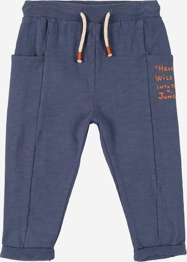 Pantaloni OVS di colore blu colomba / arancione neon, Visualizzazione prodotti