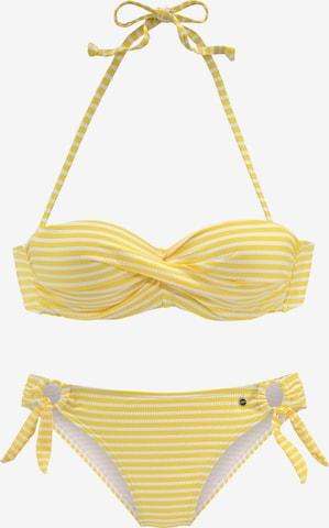 geltona s.Oliver Bikinis