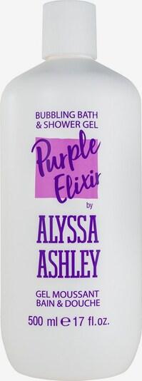 Alyssa Ashley Bath & Shower Gel 'Purpe Elixir' in transparent, Produktansicht